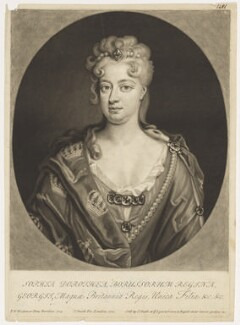 Sophia Dorothea, Queen of Prussia, by John Smith, after  Friedrich Wilhelm Weidemann - NPG D9124