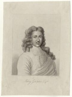 Sidney Godolphin, by Robert Cooper - NPG D27021