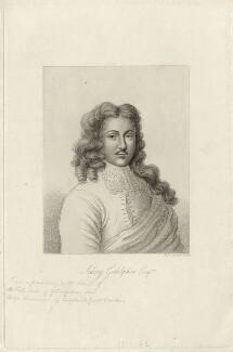 Sidney Godolphin, by Robert Cooper - NPG D27023