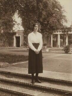 Hester Sassoon (née Gatty), by F.J. Arnott, mid 1920s - NPG x45991 - © National Portrait Gallery, London