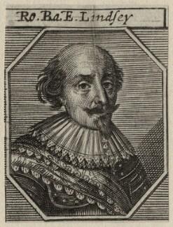 Robert Bertie, 1st Earl of Lindsey, after George Geldorp - NPG D27036