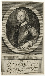 Jacob Astley, Baron Astley, by Michael Vandergucht, 1713 - NPG D27039 - © National Portrait Gallery, London