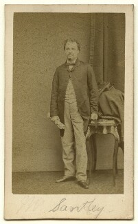 Sir Charles Santley, by Herbert Watkins - NPG x22389