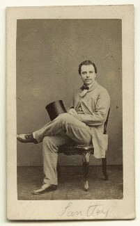 Sir Charles Santley, by Herbert Watkins - NPG x22388