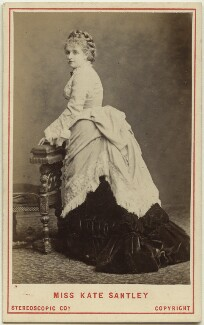 Kate Santley, by London Stereoscopic & Photographic Company - NPG Ax28472