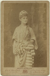 Constance ('Connie') (née Gilchrist), Countess of Orkney as Morgiana in 'The Forty Thieves', by W. & D. Downey - NPG x20036
