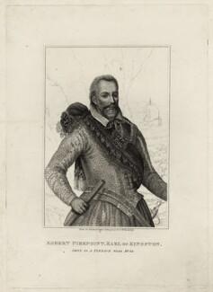 Robert Pierrepont (Pierrepoint), 1st Earl of Kingston-upon-Hull, after Unknown artist - NPG D27044