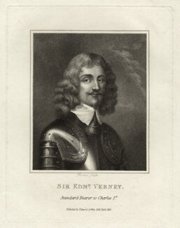 Sir Edmund Verney, by Rivers - NPG D27046
