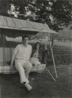 Siegfried Sassoon; Hester Sassoon (née Gatty), by Unknown photographer - NPG x46003