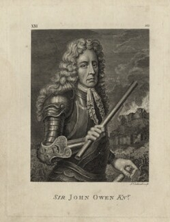 Sir John Owen, by James Caldwall - NPG D27051