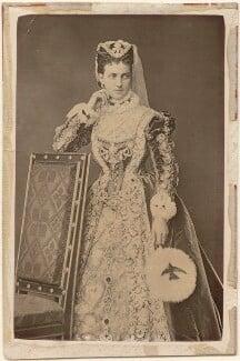 Queen Alexandra as Mary, Queen of Scots, by A.J. (Arthur James) Melhuish - NPG x23493