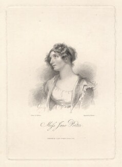 Jane Porter, by Samuel Freeman, after  George Henry Harlow - NPG D9126