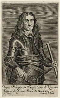 James Graham, 1st Marquess of Montrose, by Paulus Pontius (Paulus Du Pont), probably after  Gerrit van Honthorst - NPG D27067