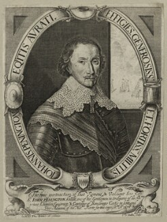 Sir John Penington, by Cornelis van Dalen, published by  Thomas Jenner - NPG D27077