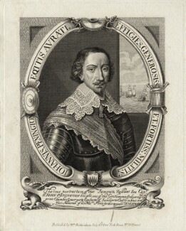 Sir John Penington, after Cornelis van Dalen, published by  William Richardson - NPG D27079