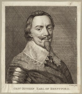 Patrick Ruthven, Earl of Brentford, by P. or S. Paul (Samuel de Wilde?) - NPG D27080