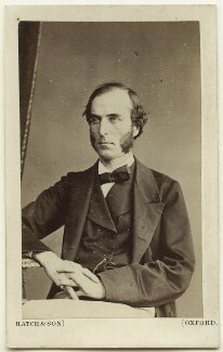 Goldwin Smith, by Hatch & Son, printed and published by  The Oxford School of Photography & Colouring - NPG Ax7518