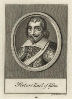 Robert Devereux, 3rd Earl of Essex, by James Hulett - NPG D27084