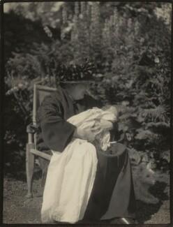 Katharine (née Morrison), Lady Gatty; George Thornycroft Sassoon, by Unknown photographer - NPG x46011