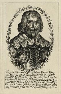 Robert Devereux, 3rd Earl of Essex, after Unknown artist - NPG D27088