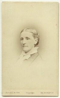 Hannah Tatum Smith (née Whitall), by Elliott & Fry - NPG x22636