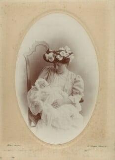 Hester Sassoon (née Gatty); Katharine (née Morrison), Lady Gatty, by Rita Martin - NPG x68913
