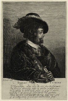 unknown man engraved as Thomas Fairfax, 3rd Lord Fairfax of Cameron, by Matthäus Merian the Younger - NPG D27092