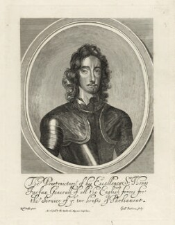 Thomas Fairfax, 3rd Lord Fairfax of Cameron, by William Faithorne, after  Robert Walker, published by  Thomas Rowlett - NPG D27093