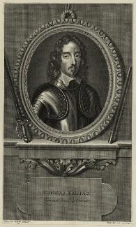 Thomas Fairfax, 3rd Lord Fairfax of Cameron, by Pierre Drevet, after  Robert Walker - NPG D27095
