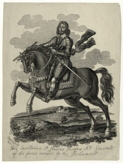 Thomas Fairfax, 3rd Lord Fairfax of Cameron, after Edward Bower - NPG D27097