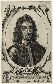 Thomas Fairfax, 3rd Lord Fairfax of Cameron, after Robert Walker - NPG D27101