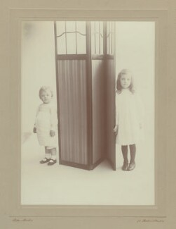 Richard Gatty; Hester Sassoon (née Gatty), by Rita Martin - NPG x68916