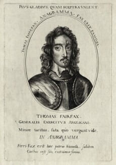 Thomas Fairfax, 3rd Lord Fairfax of Cameron, after Robert Walker - NPG D27106