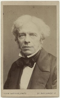 Michael Faraday, by John Watkins, 1860s - NPG Ax18201 - © National Portrait Gallery, London