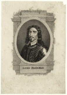 Thomas Fairfax, 3rd Lord Fairfax of Cameron, after Samuel Cooper - NPG D27109