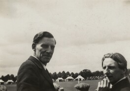 Siegfried Loraine Sassoon; Edmund Blunden, by Unknown photographer, 8 July 1931 - NPG x46602 - © National Portrait Gallery, London