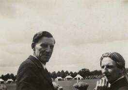 Siegfried Sassoon; Edmund Blunden, by Unknown photographer - NPG x46602