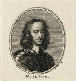 Thomas Fairfax, 3rd Lord Fairfax of Cameron, by William Sherlock - NPG D27114