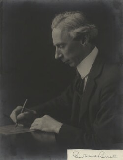 Bertrand Arthur William Russell, 3rd Earl Russell, by Hugh Cecil (Hugh Cecil Saunders), mid-late 1910s - NPG x46605 - © reserved; collection National Portrait Gallery, London