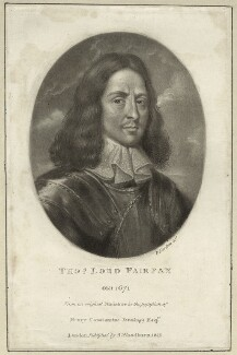 Thomas Fairfax, 3rd Lord Fairfax of Cameron, by Richard Earlom, published by  Samuel Woodburn - NPG D27119