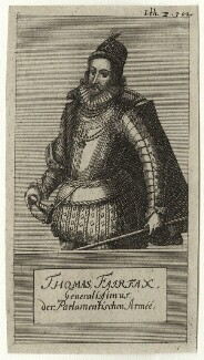 Thomas Fairfax, 3rd Lord Fairfax of Cameron, after Unknown artist - NPG D27122