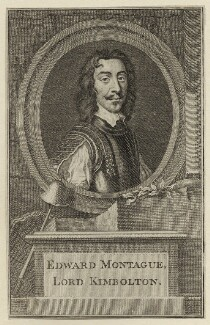 Edward Montagu, 2nd Earl of Manchester, after Sir Anthony van Dyck, mid 18th century - NPG D27137 - © National Portrait Gallery, London