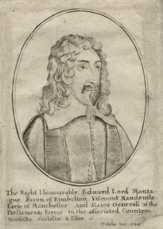 Edward Montagu, 2nd Earl of Manchester, by Wenceslaus Hollar - NPG D27138