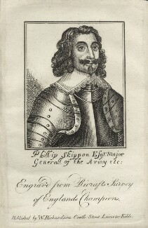 Philip Skippon, published by William Richardson - NPG D27141