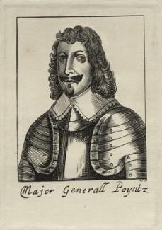 Sydenham Poyntz (Poynts), by R.S. - NPG D27142