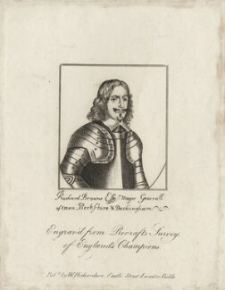 Sir Richard Browne, 1st Bt, after Unknown artist, published by  William Richardson - NPG D27153
