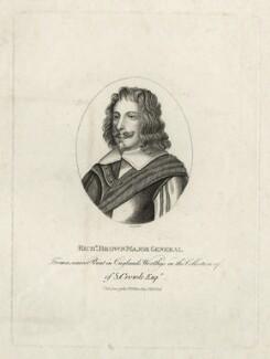 Sir Richard Browne, 1st Bt, by Silvester (Sylvester) Harding, or by  Edward Harding, published by  E. & S. Harding - NPG D27154