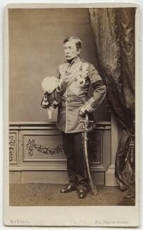 Sir John Fox Burgoyne, 1st Bt, by John Jabez Edwin Mayall - NPG x38977