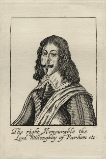 Francis Willoughby, 5th Baron Willoughby of Parham, by R.S. - NPG D27158