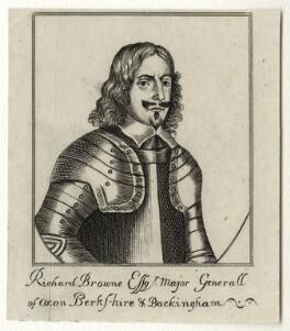 Sir Richard Browne, 1st Bt, after Unknown artist - NPG D27160